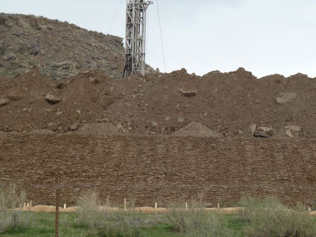 A drilling site south of the Colorado River.