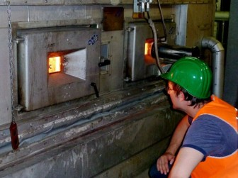 Linz plant furnace
