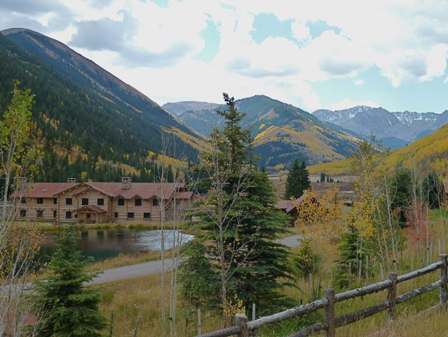 The Elk Mountain Lodge in the upper Castle Creek valley above Aspen. The lodge was once a popular wedding and special-event hall. Koch has recently joined other landowners in the Castle and Maroon Creek valleys in suing the city of Aspen in an effort to strip it of its water rights for hydro power. The city has proposed to build a hydro plant on lower Castle Creek, well below the Elk Mountain Lodge.
