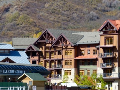 The Capitol Peak Lodge, just a few steps from Aspen Skiing Co.'s gondola to Elk Camp in Base Village.