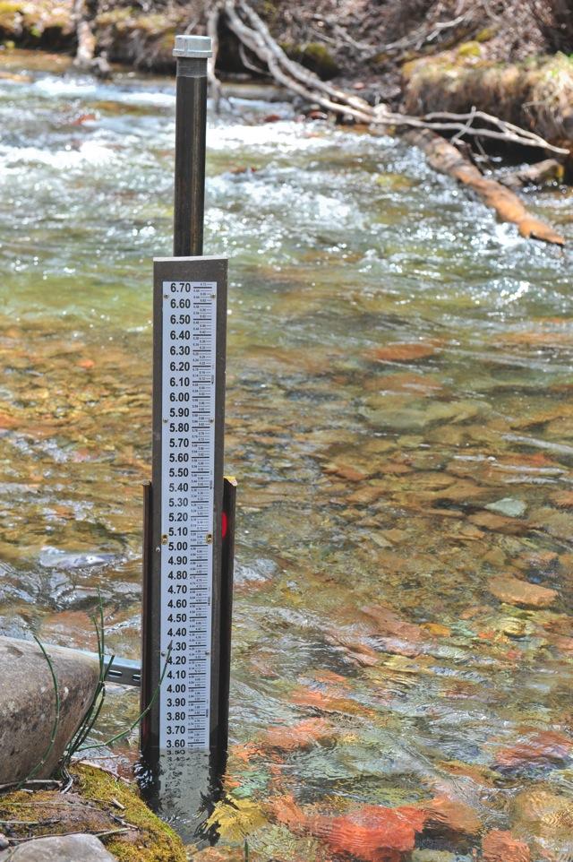 New stream gauge on Castle Creek installed - Aspen Journalism