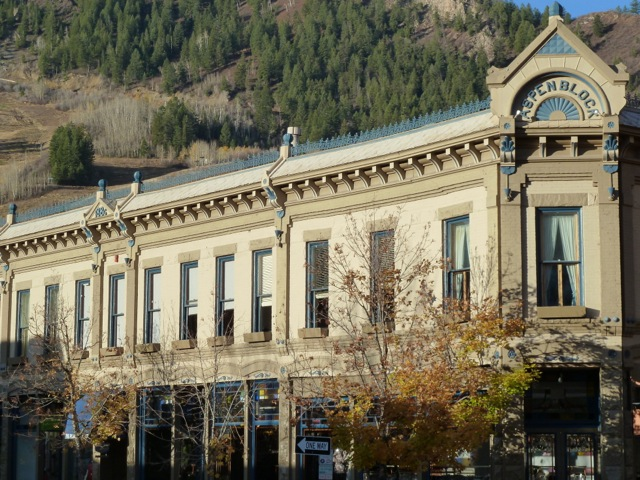 The Aspen Block Building in downtown Aspen is worth $12.6 million, according to the Pitkin County assessor's office. It is one of the most valuable, and iconic, buildings in Aspen's historic downtown shopping district.