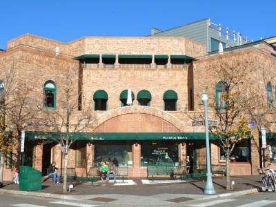 "Volk Plaza is now ""Paradise corner"" in downtown Aspen."