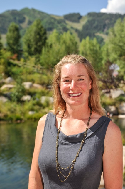 Ashley Perl is the new climate action manager for the city's Canary Initiative.