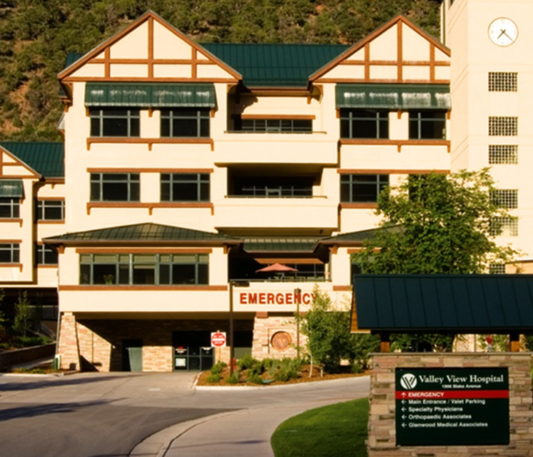 Valley View Hospital in Glenwood Springs - not always a low-cost alternative.
