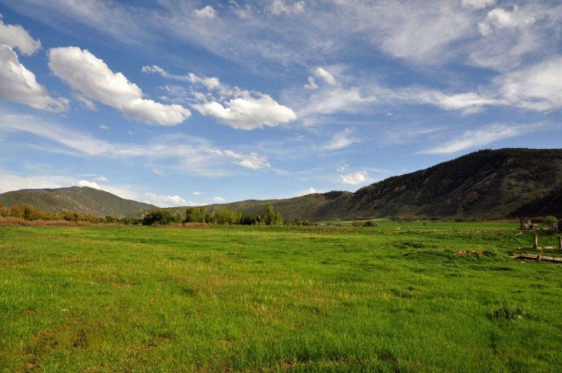 The former Glassier ranch near Emma, now owned by Pitkin County.