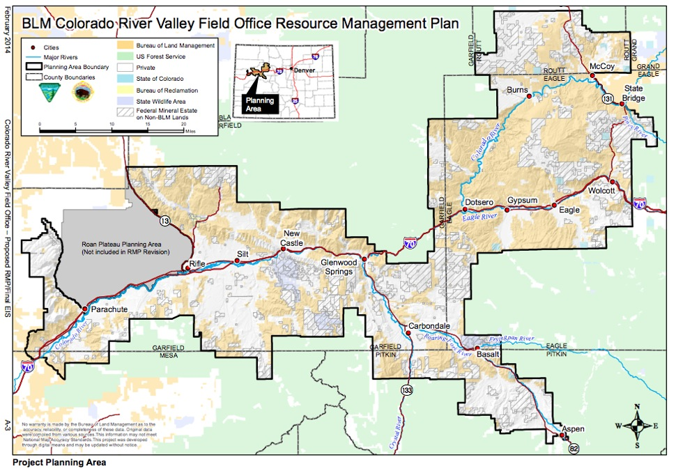 Local Blm Parcels To Be Managed Under Sprawling New Resource Plan
