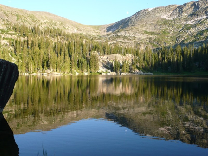 One of the many beautiful lakes in the headwaters of the Fryingpan River, which is already heavily diverted to the Front Range.