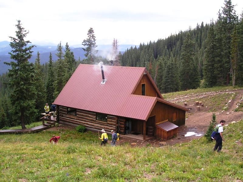Margy's Hut.