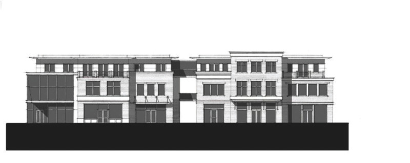 As revised version of the proposed Wienerstube building.