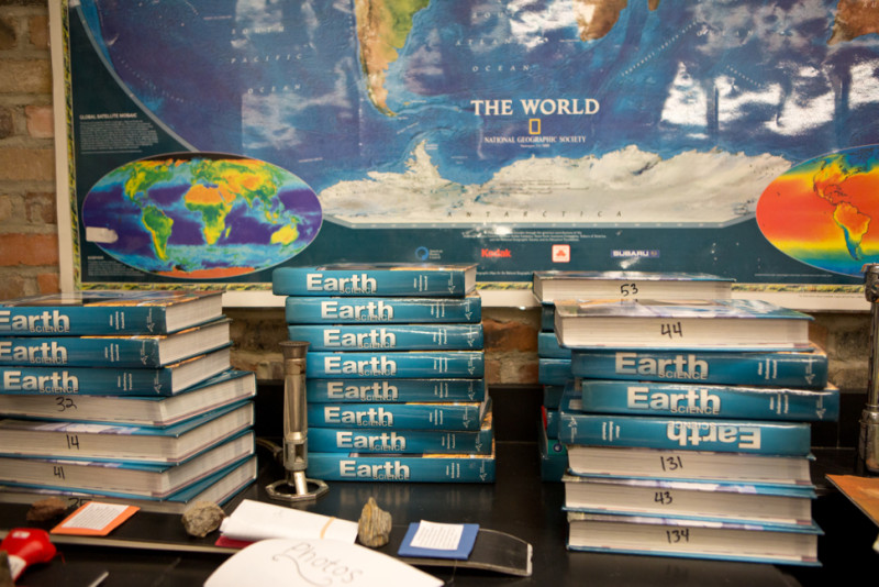 Ed - earth science books