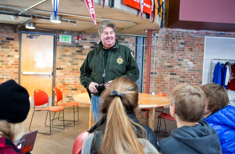 Paul Hufnagle, school resource officer at Aspen High School, says parents should communicate with each other and with their kids in order to reduce substance abuse among teens.
