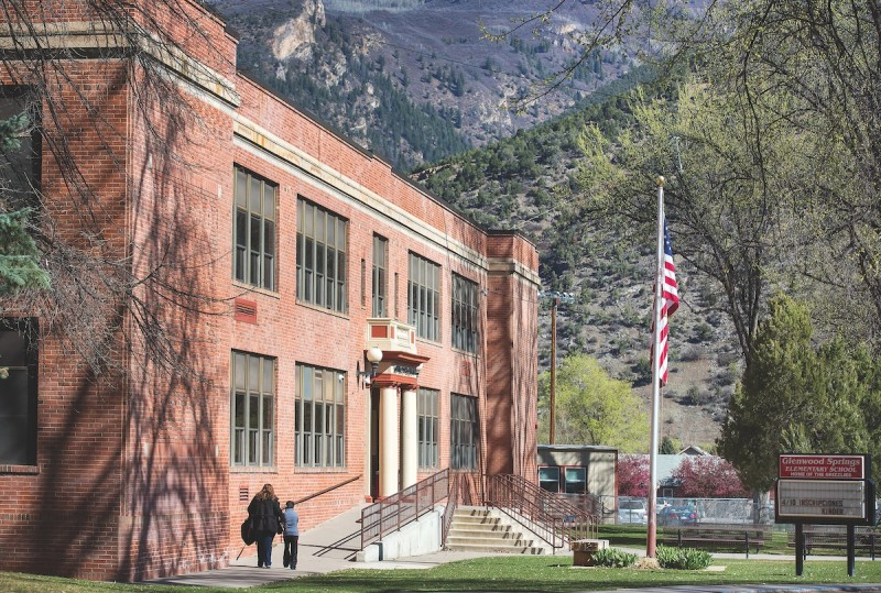 Glenwood Springs Elementary School is in line for a major addition if the Roaring Fork School District wins an $8.8 million state grant. The state's school-construction grants now include some revenues from taxes on legal marijuana.
