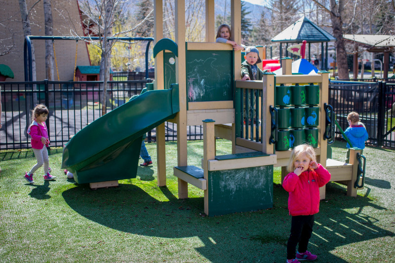 Children play during recess at the Early Learning Center in Aspen. Preschool is important to kids' physical, social and cognitive development.