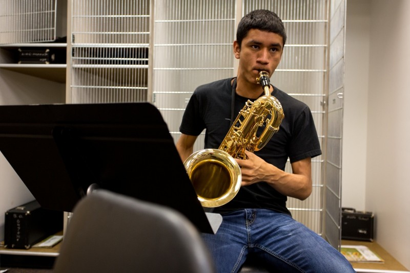 Basalt High School senior Joel Suarez is headed for University of Northern Colorado in Greeley to double-major in music education and earth sciences. Suarez chose an in-state public university, but College Counselor Elizabeth Penzel pushed him to apply to small, East-Coast schools as well, just so he knew all of his options.