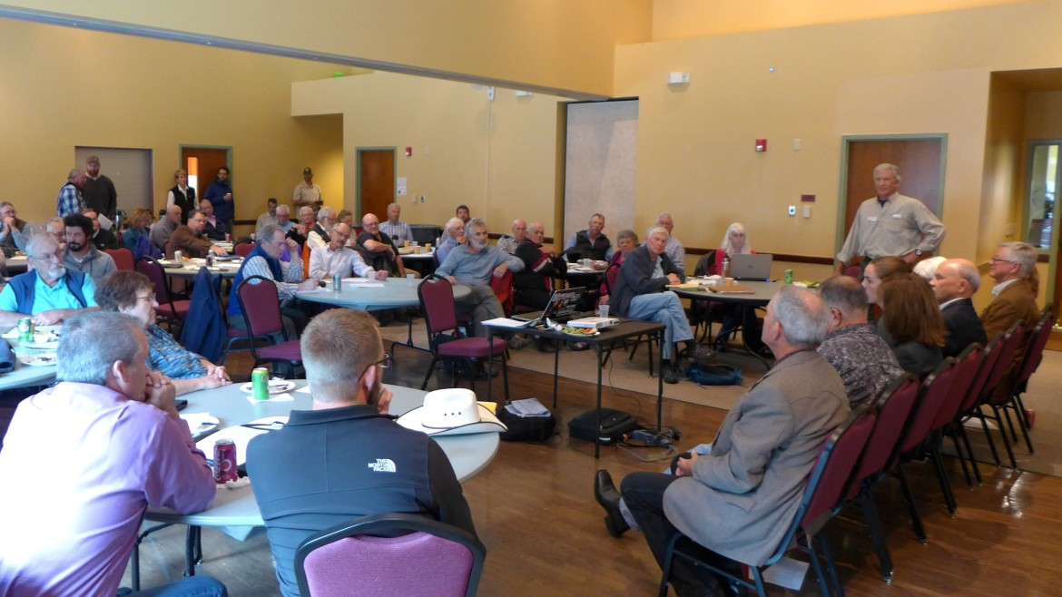 Addressing the Colorado roundtable A group of eight Western Slope lawmakers talked Monday with the members and guests of the Colorado River Basin Roundtable about the forthcoming Colorado Water Plan at the Glenwood Springs Community Center.