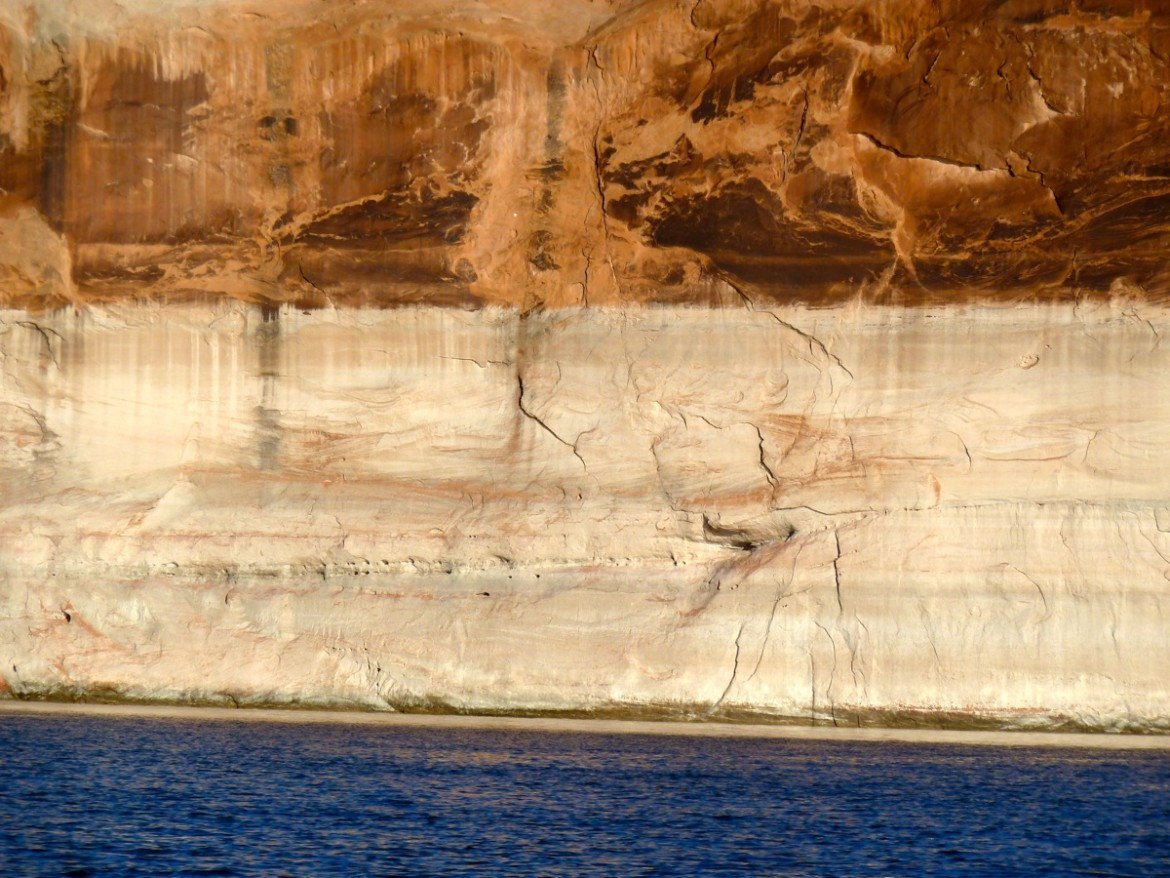 Upper Lake Powell, October 2014.