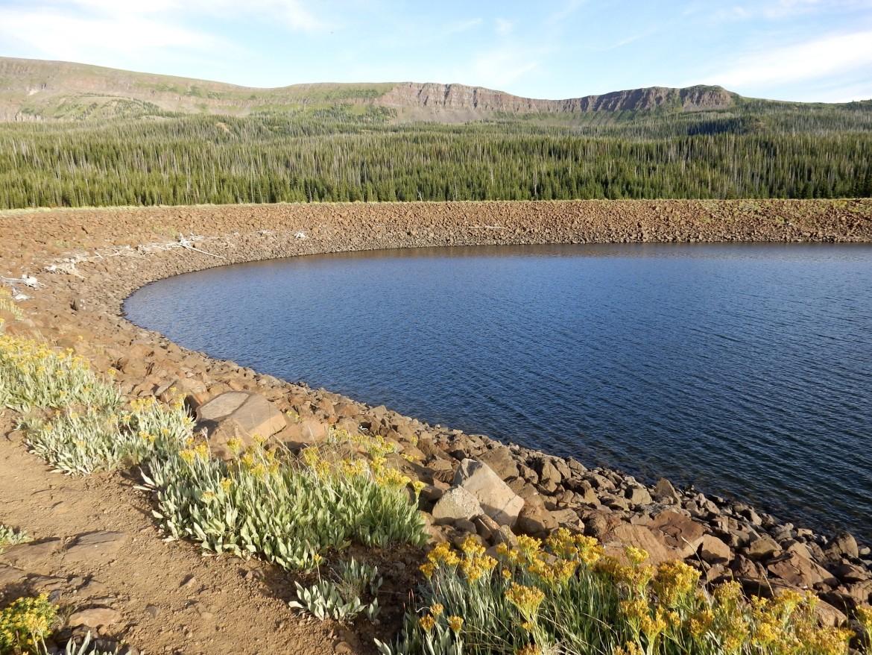 Bear River dam