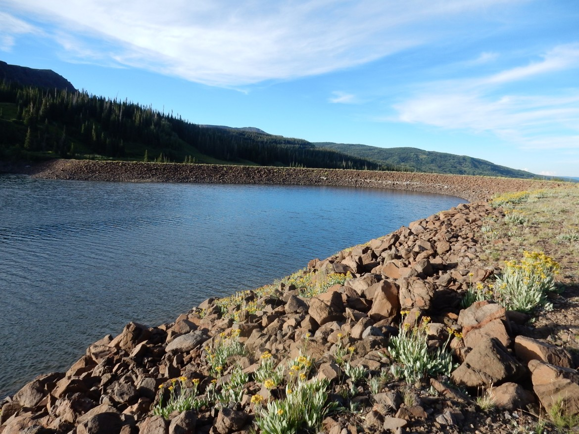 Can water be stored on the Western Slope without dropping levels too low in Lake Powell?
