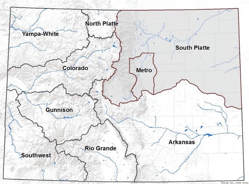 Gardner Colorado Map.South Platte Basin Roundtable Applauds A Bill To Study Dams Aspen