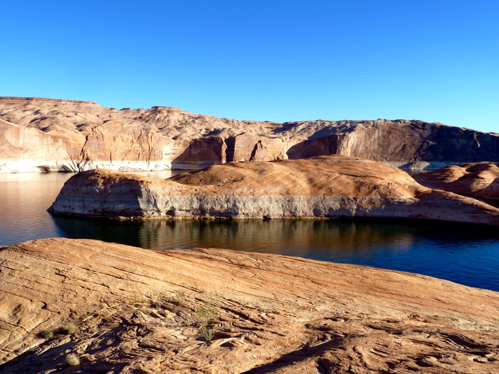 Upper Lake Powell in the fall of 2014.