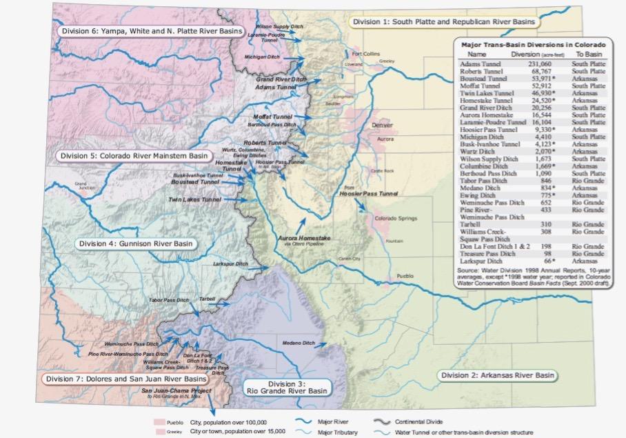 Dolores River Colorado Map.Colorado River Information Resources Aspen Journalism
