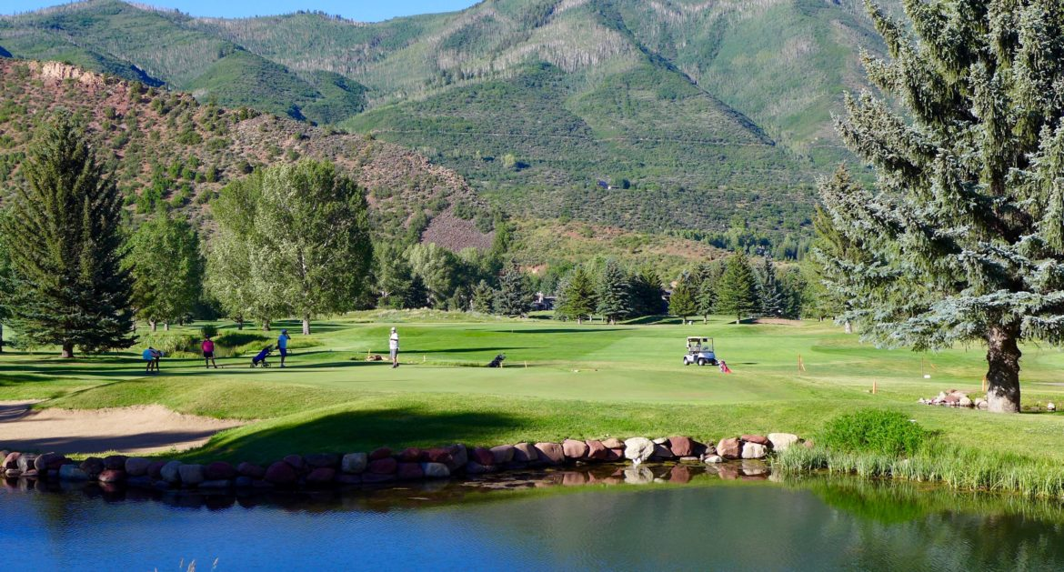 Aspen working to use reclaimed water on its golf course for Gardner golf course