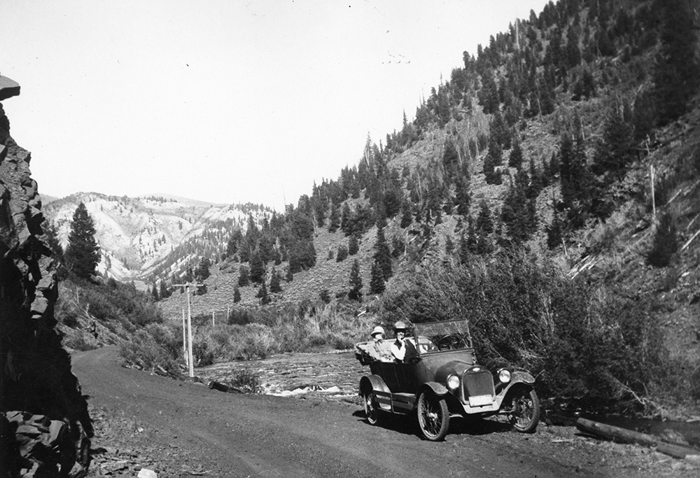 Town of Ruedi submerged by reservoir, but not by history